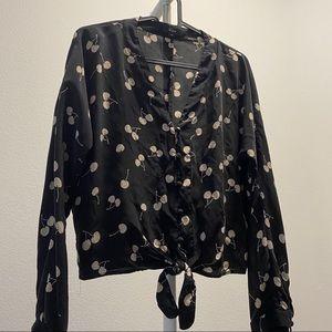 Rails silk blouse